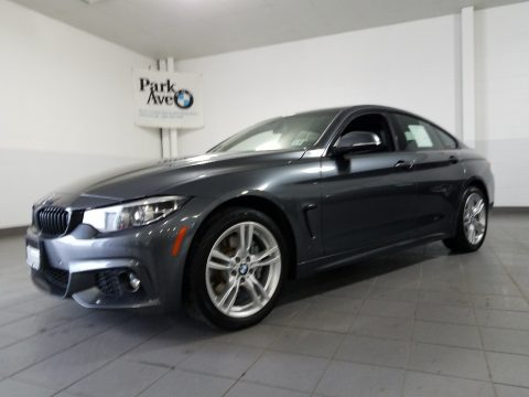 Mineral Grey Metallic BMW 4 Series 430i xDrive Gran Coupe.  Click to enlarge.