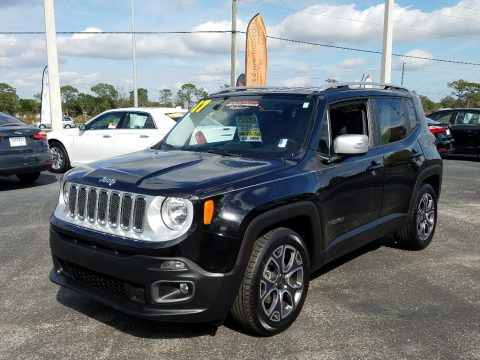 Black Jeep Renegade Limited.  Click to enlarge.
