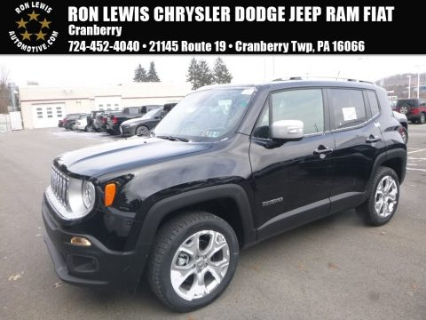 Black Jeep Renegade Limited 4x4.  Click to enlarge.