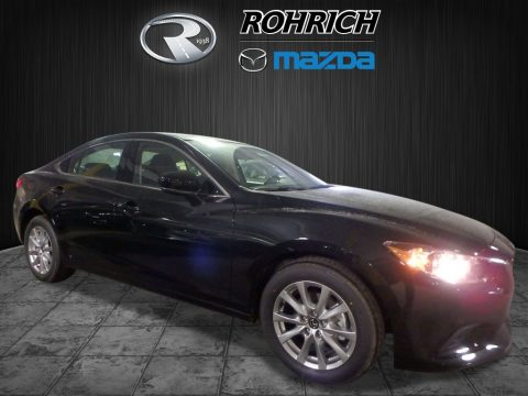 Jet Black Mica Mazda Mazda6 Sport.  Click to enlarge.