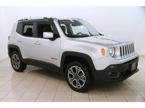 Glacier Metallic Jeep Renegade Limited 4x4.  Click to enlarge.