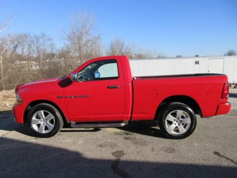 Flame Red Dodge Ram 1500 ST Regular Cab 4x4.  Click to enlarge.