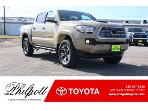 Quicksand Toyota Tacoma TRD Sport Double Cab 4x4.  Click to enlarge.
