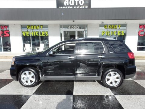 Onyx Black GMC Terrain SLT.  Click to enlarge.