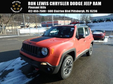 Omaha Orange Jeep Renegade Trailhawk 4x4.  Click to enlarge.
