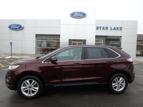 Burgundy Velvet Metallic Ford Edge SEL.  Click to enlarge.