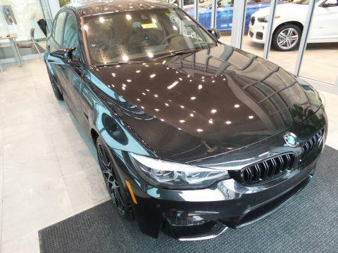 Black Sapphire Metallic BMW M3 Sedan.  Click to enlarge.