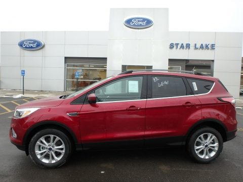 Ruby Red Ford Escape SE 4WD.  Click to enlarge.