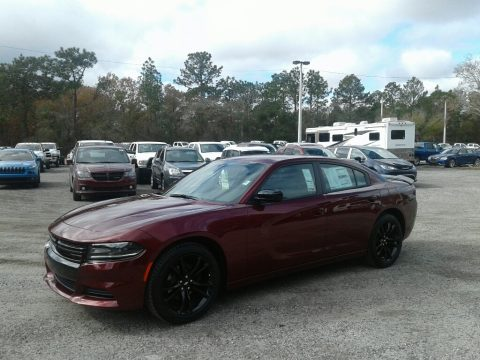 Octane Red Pearl Dodge Charger SXT.  Click to enlarge.