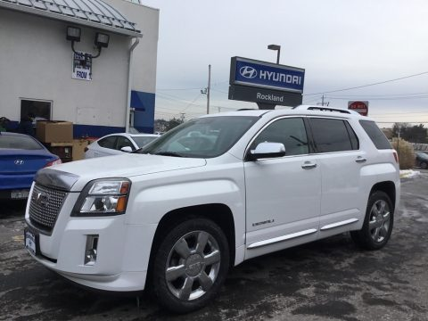 Summit White GMC Terrain Denali AWD.  Click to enlarge.