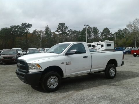 Bright White Ram 2500 Tradesman Regular Cab 4x4.  Click to enlarge.