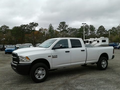 Bright White Ram 3500 Tradesman Crew Cab 4x4.  Click to enlarge.