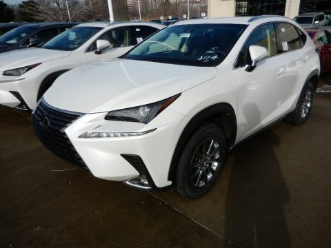 Eminent White Pearl Lexus NX 300.  Click to enlarge.