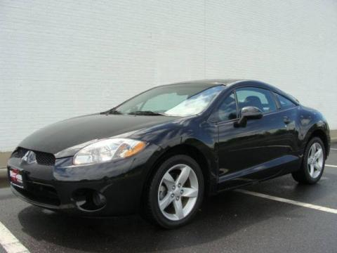 Kalapana Black 2006 Mitsubishi Eclipse GS Coupe with Dark Charcoal interior
