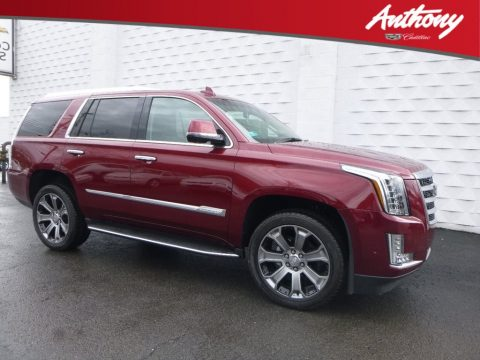Red Passion Tintcoat Cadillac Escalade Premium Luxury 4WD.  Click to enlarge.