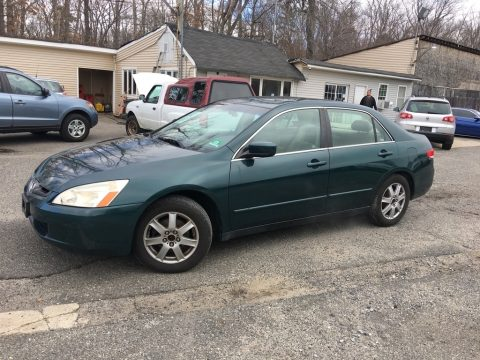 Noble Green Pearl Honda Accord LX Sedan.  Click to enlarge.