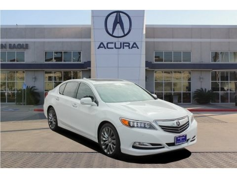 Bellanova White Pearl Acura RLX Advance.  Click to enlarge.