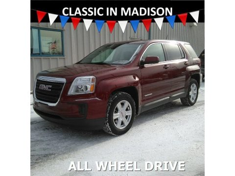 Crimson Red Tintcoat GMC Terrain SLE AWD.  Click to enlarge.