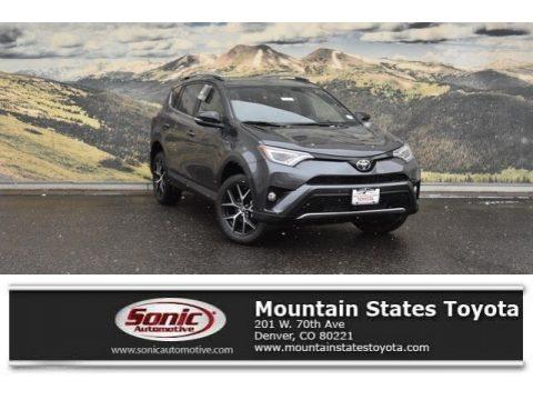 Magnetic Gray Metallic Toyota RAV4 SE AWD.  Click to enlarge.