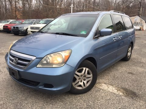 Ocean Mist Metallic Honda Odyssey EX-L.  Click to enlarge.