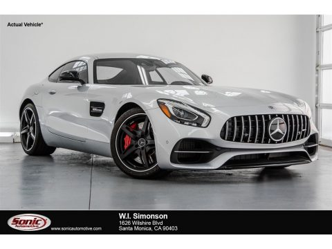 Iridium Silver Metallic Mercedes-Benz AMG GT S Coupe.  Click to enlarge.
