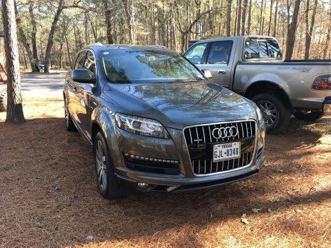 Graphite Gray Metallic Audi Q7 3.0 Premium Plus quattro.  Click to enlarge.
