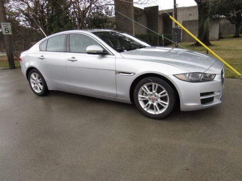 Rhodium Silver Jaguar XE 20d Premium.  Click to enlarge.