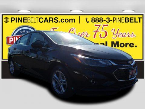 Mosaic Black Metallic Chevrolet Cruze LT.  Click to enlarge.