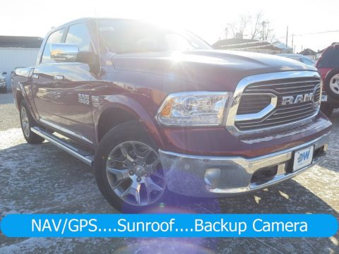 Delmonico Red Pearl Ram 1500 Limited Crew Cab 4x4.  Click to enlarge.