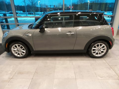 Moonwalk Grey Metallic Mini Hardtop Cooper S 2 Door.  Click to enlarge.