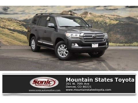 Magnetic Gray Metallic Toyota Land Cruiser 4WD.  Click to enlarge.
