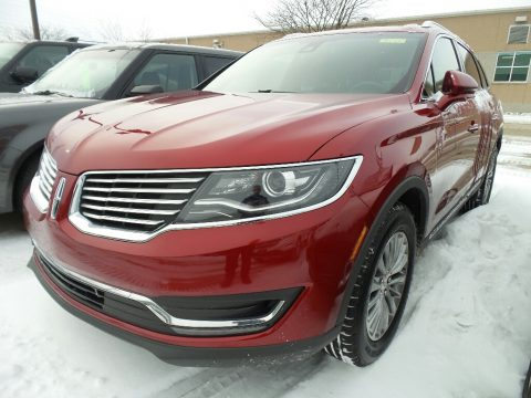Ruby Red Lincoln MKX Select AWD.  Click to enlarge.