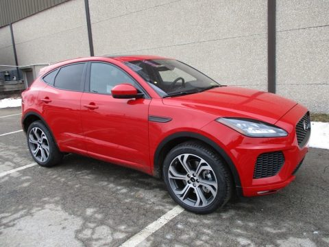 Caldera Red Jaguar E-PACE First Edition.  Click to enlarge.