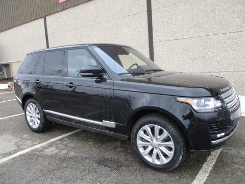 Santorini Black Metallic Land Rover Range Rover HSE.  Click to enlarge.
