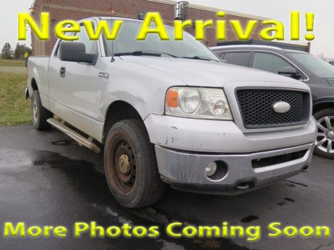 Silver Metallic Ford F150 XLT SuperCab 4x4.  Click to enlarge.