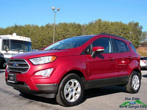 Ruby Red Ford EcoSport SE.  Click to enlarge.