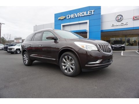 Dark Chocolate Metallic Buick Enclave Premium.  Click to enlarge.