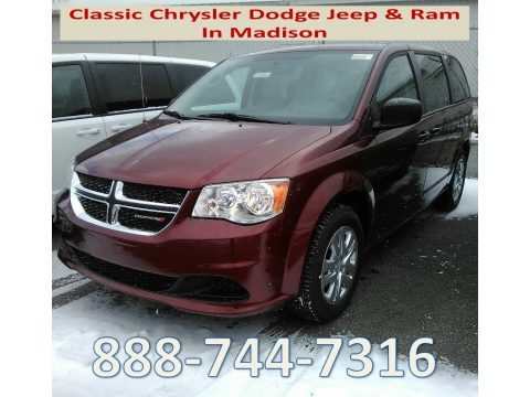 Octane Red Pearl Dodge Grand Caravan SE.  Click to enlarge.