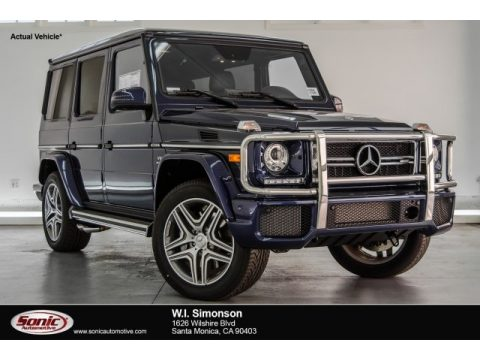 designo Mystic Blue Metallic Mercedes-Benz G 63 AMG.  Click to enlarge.