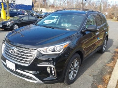 Becketts Black Hyundai Santa Fe SE AWD.  Click to enlarge.
