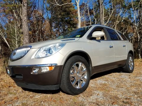 Gold Mist Metallic Buick Enclave CXL AWD.  Click to enlarge.