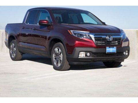 Deep Scarlet Pearl Honda Ridgeline RTL AWD.  Click to enlarge.