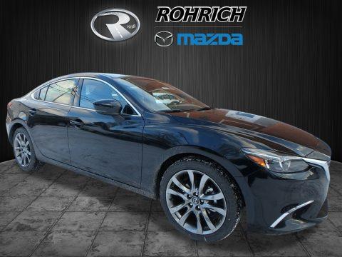 Jet Black Mica Mazda Mazda6 Grand Touring.  Click to enlarge.