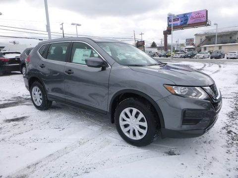 Gun Metallic Nissan Rogue S AWD.  Click to enlarge.