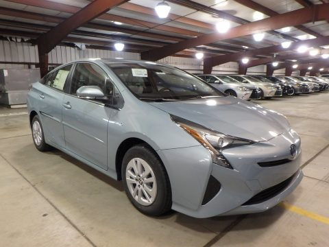 Sea Glass Pearl Toyota Prius One.  Click to enlarge.