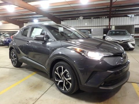 Magnetic Gray Metallic Toyota C-HR XLE.  Click to enlarge.