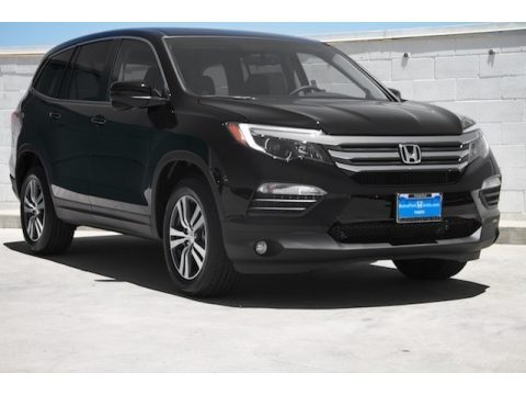 Crystal Black Pearl Honda Pilot EX AWD.  Click to enlarge.