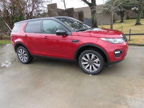 Firenze Red Metallic Land Rover Discovery Sport HSE Luxury.  Click to enlarge.