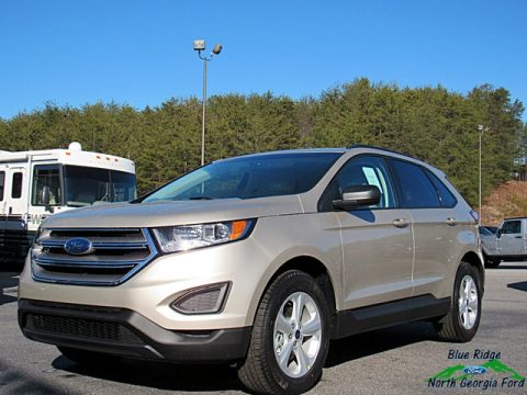 White Gold Ford Edge SE.  Click to enlarge.