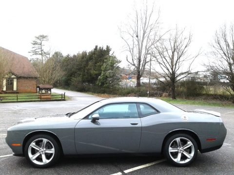 Destroyer Gray Dodge Challenger SXT.  Click to enlarge.